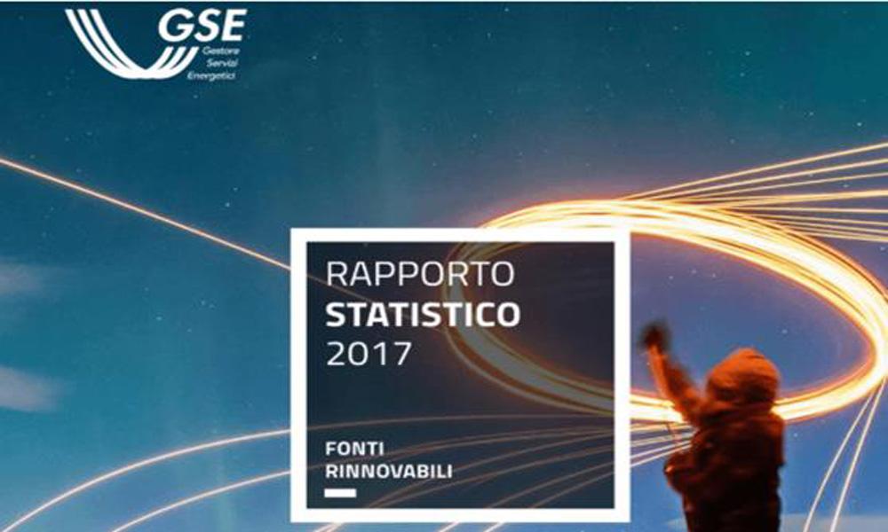 I dati del rapporto del Gestore Servizi Energetici (GSE)
