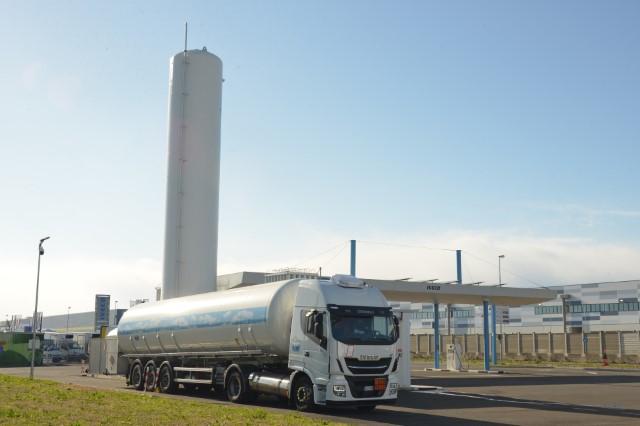 Cnh: a Torino prima stazione biometano del Nord-Ovest